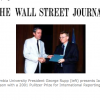 Awarded to Ian Johnson of The Wall Street Journal for his revealing stories from China about victims of the government's often brutal suppression of the Falun Gong movement and the implications of that campaign for the future.