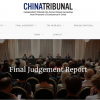 Screenshot China Tribunal